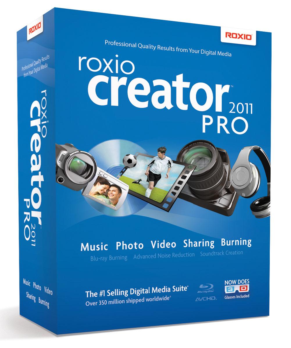 Roxio Creator 2011Pro
