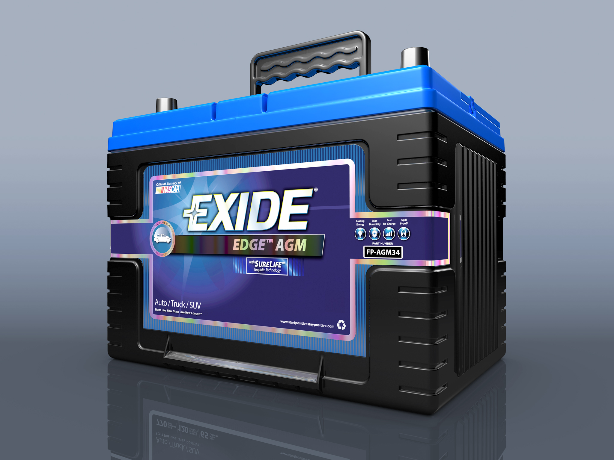 Exide Edge Battery