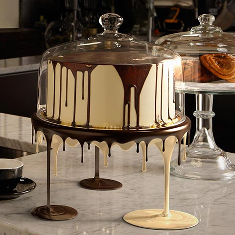 Heart Cafe Cake Stand