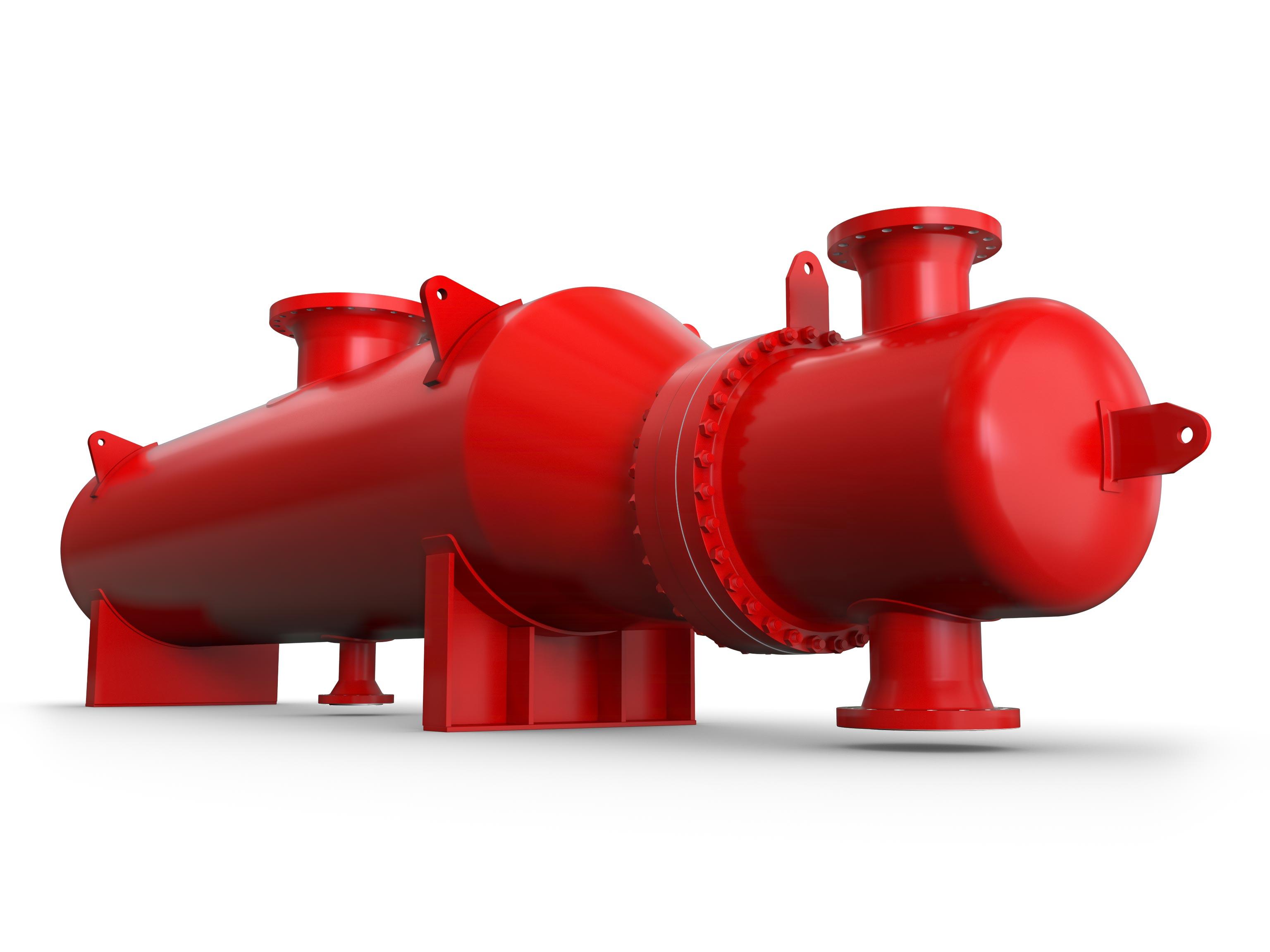 API Basco Kettle Reboiler Heat Exchanger