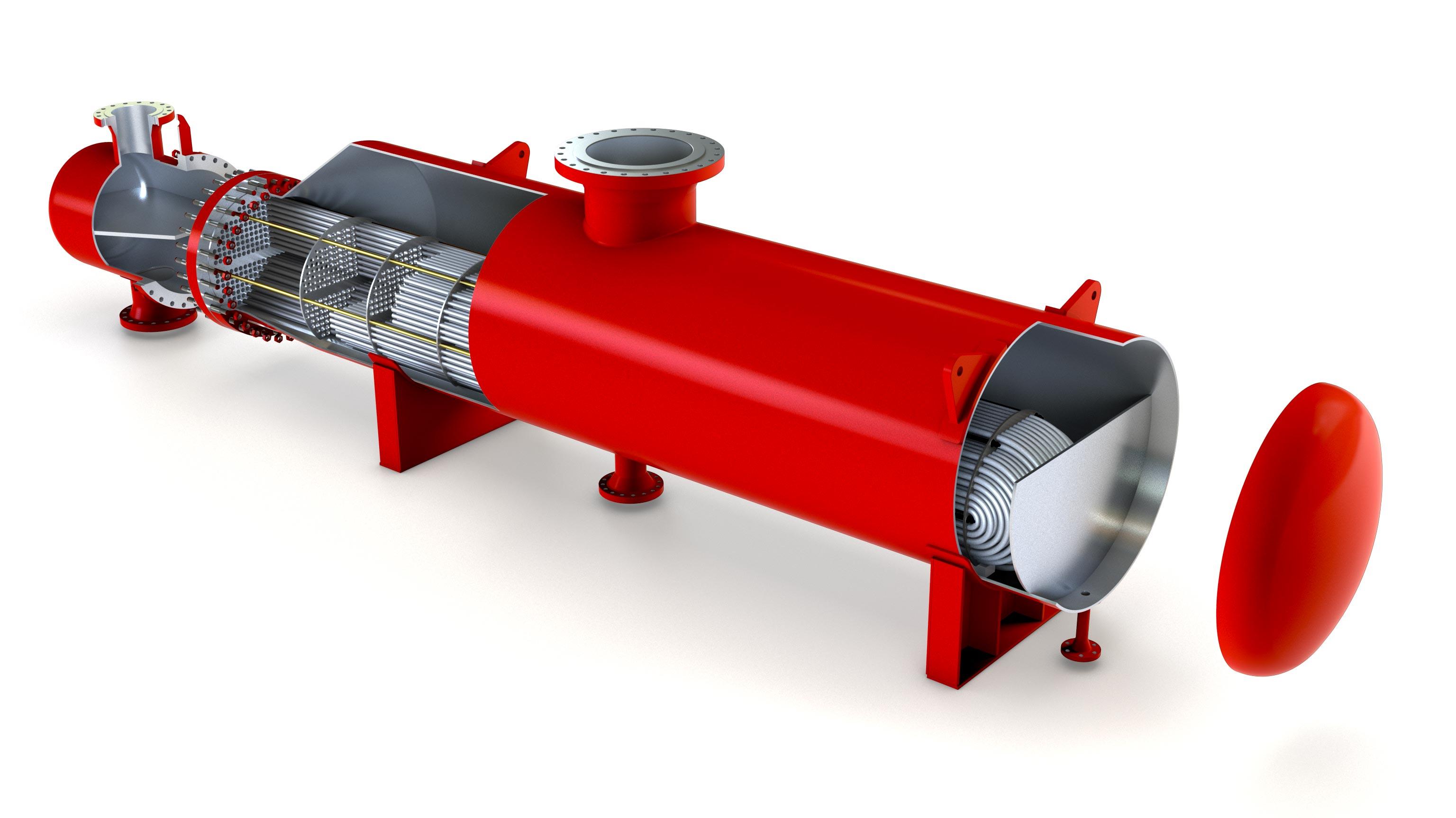 API Basco Kettle-Reboiler Heat Exchanger