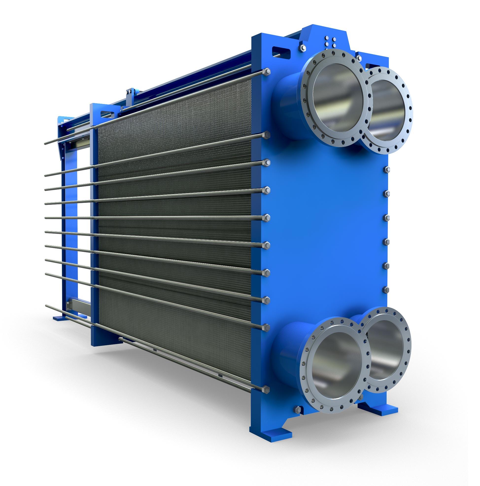 API Schmidt-Bretton M206 Bar & Plate Heat Exchanger