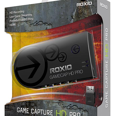 Roxio Game Capture Packaging